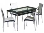 Стеклянные столовые комплекты