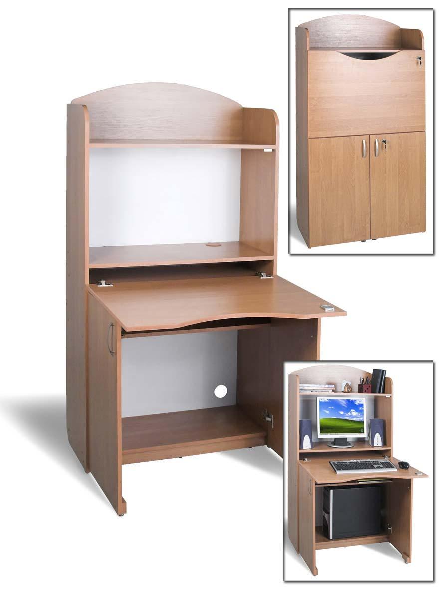 Компьютерный стол-бюро тиса б-1. мебель, двери, заказная меб.