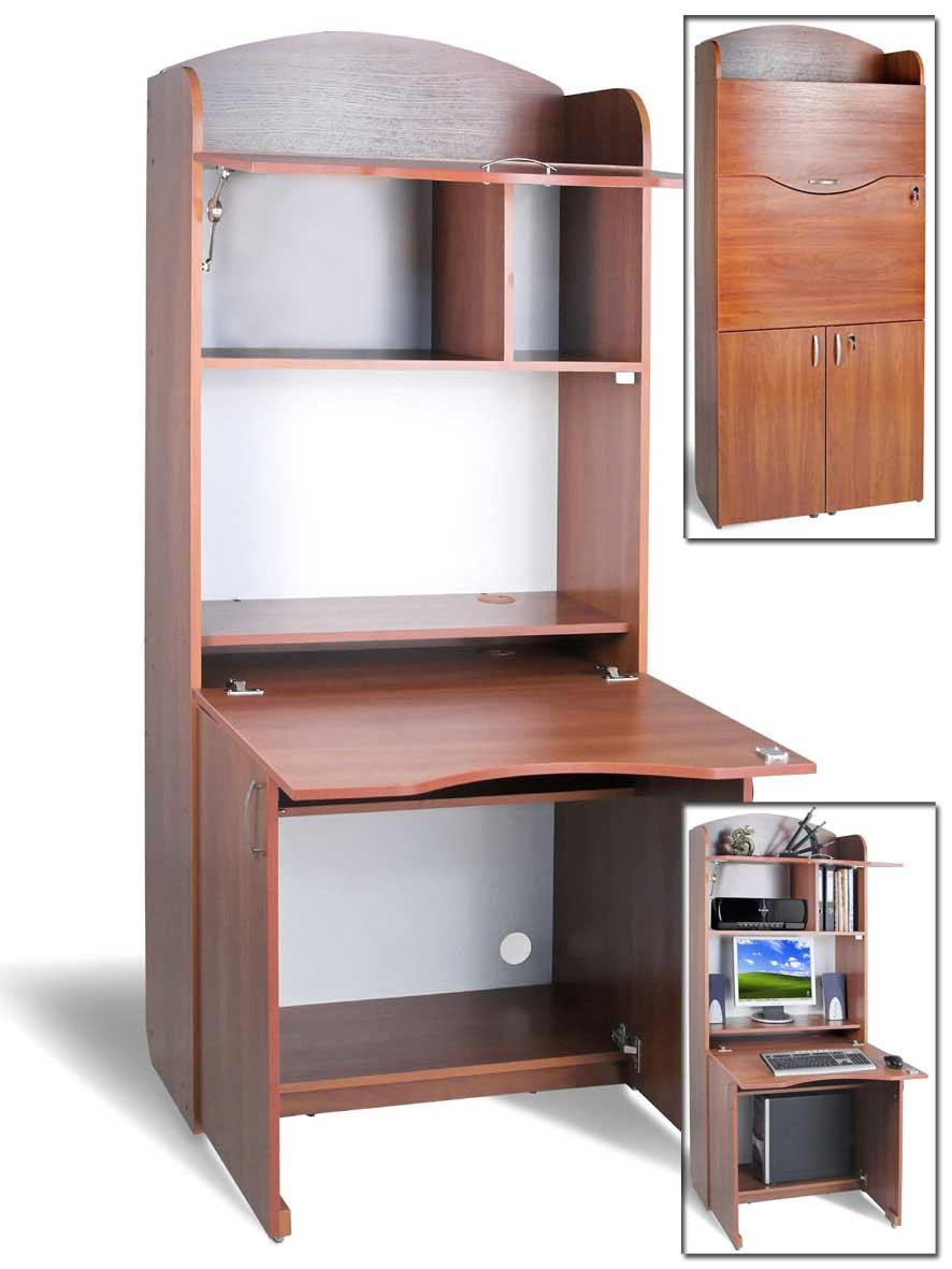 Компьютерный стол-бюро тиса б-2. мебель, двери, заказная меб.