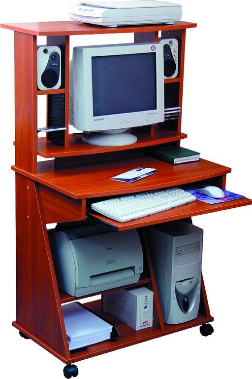 Стол компьютерный абсолют-мебель с500. мебель, двери, заказн.